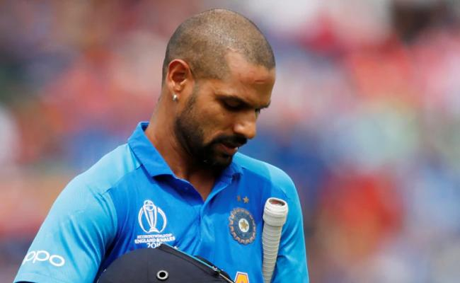 World Cup 2019 Dhawan Emotional Message After Ruled Out - Sakshi