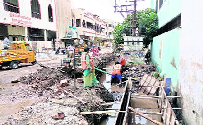 Public Facing Drainage Problem - Sakshi