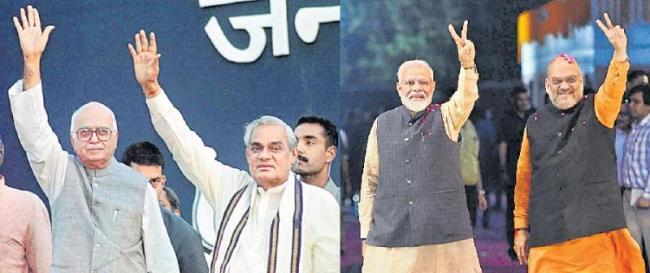BJP new Jodi No 1 Narendra Modi-Amit Shah in place - Sakshi