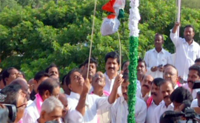 Telangana Formation Day Celebrations - Sakshi