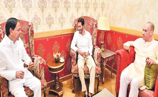 KCR And YS Jagan To Attend Iftar Party At Raj Bhavan - Sakshi