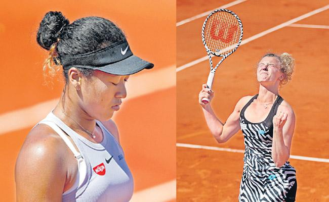 Serena Williams And Naomi Osaka Bounced Out Of French Open In Third Round - Sakshi