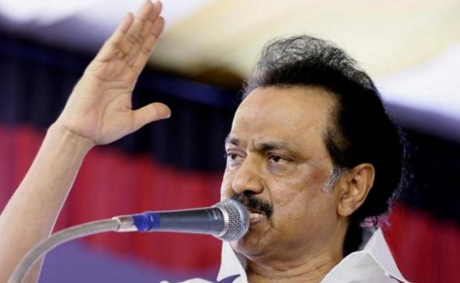 No Hindi In Our blood DMK Chief MK Stalin - Sakshi