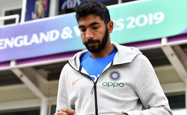Jasprit Bumrah Says Vijay Shankar Got Hit But He Is Fine - Sakshi