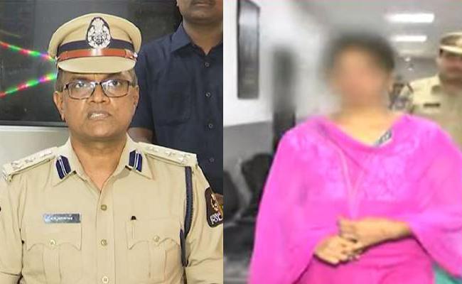 West Zone DCP Comments On Attack On Bar Dancer Case - Sakshi