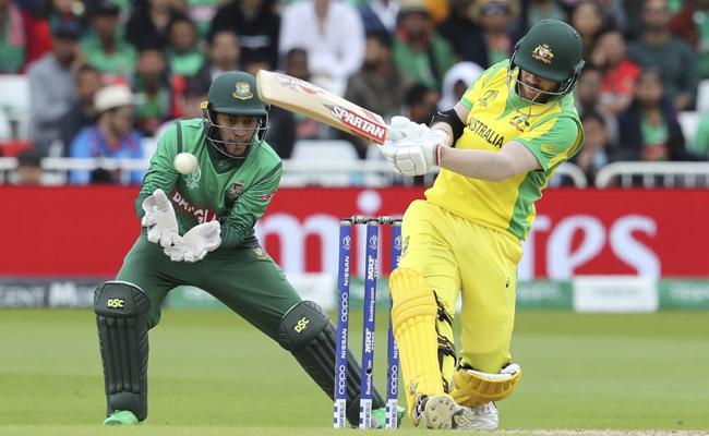 Australia Sets 382 Target for Bangladesh - Sakshi