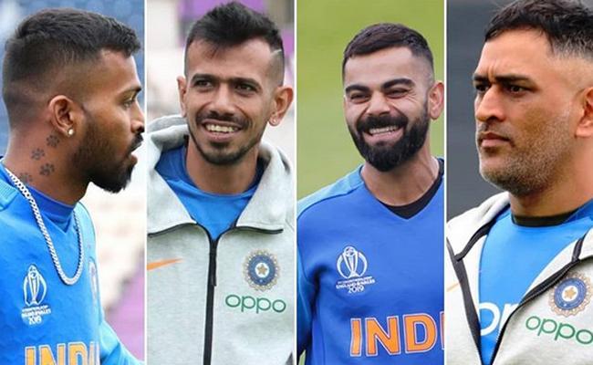 Dhoni,Kohli and Hardik get new haircuts after Pakistan win - Sakshi