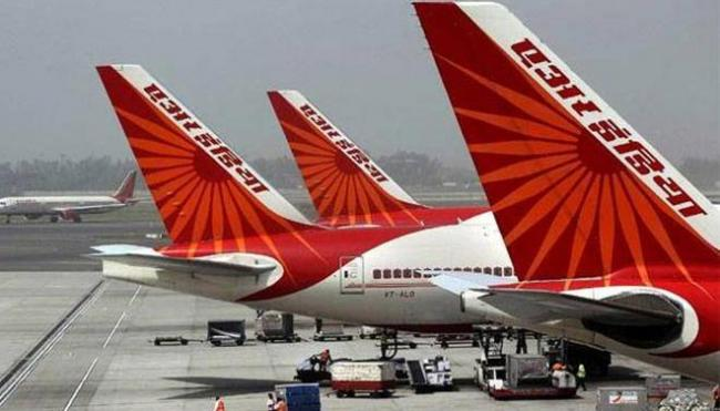 Air India flight delayed after spat over pilot lunch box - Sakshi