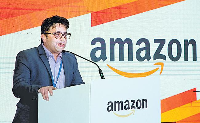 Amazon Launch Big Delivery Station in Hyderabad - Sakshi