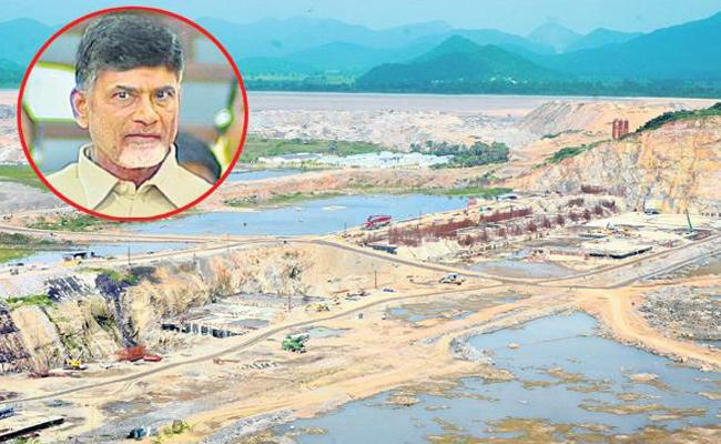 Chandrababu Naidu Neglected Polavaram Project - Sakshi