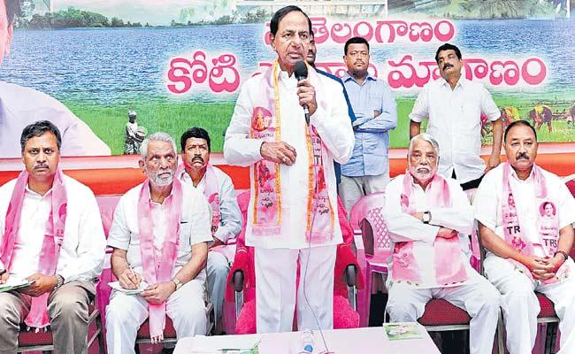 TRS Decides To Hold Kaleshwaram Festivals On June 21st - Sakshi
