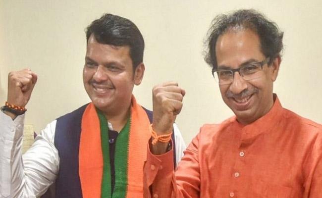 Shiv Sena Says Next Maharashtra CM From Their Party - Sakshi