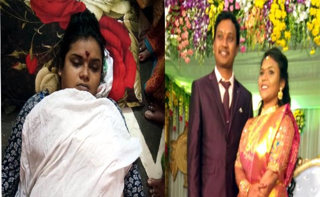 Women Committed Suicide In Srungavarapukota - Sakshi
