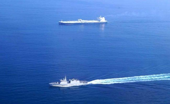 Navy Officers Indian Crude Oil Carriers In Persian Gulf Tension - Sakshi