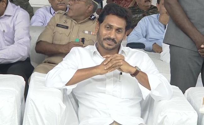 AP CM YS Jagan Mohan Reddy Kaleshwaram Tour - Sakshi