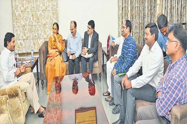 CM YS Jagan ordered to provide the best medical services to the people - Sakshi
