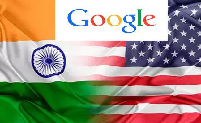 India Target Google Us Trade War - Sakshi