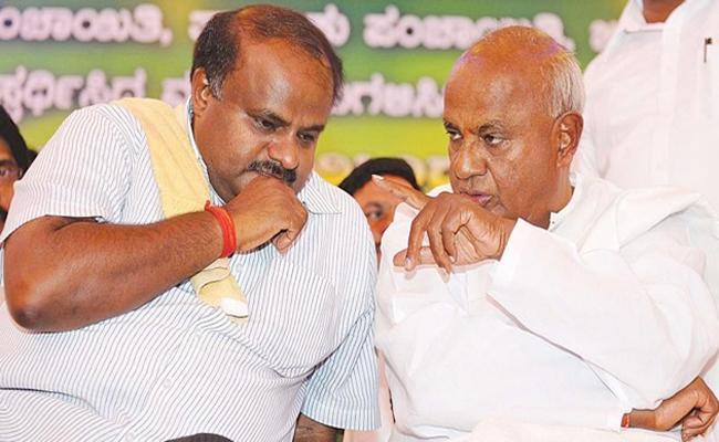 Deve Gowda U Turn On Mid Term Poll Comment - Sakshi