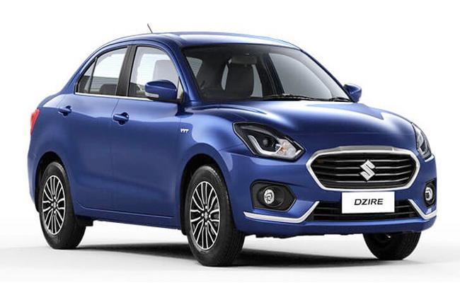 Maruti Suzuki Dzire Car Price Rises - Sakshi