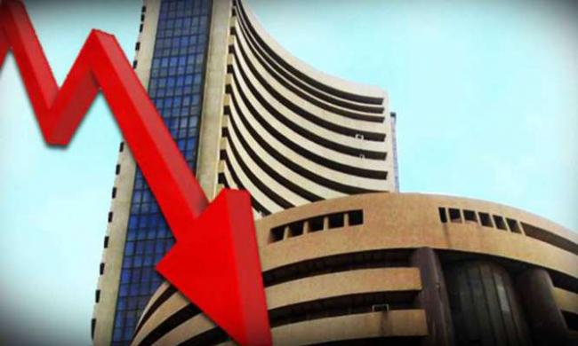 Benchmark Indices Ended Lower Today - Sakshi
