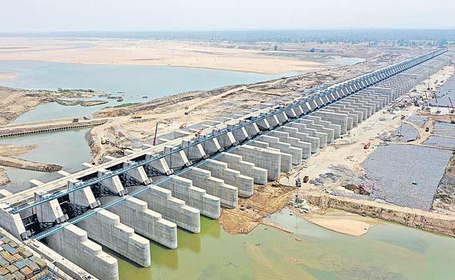 Kaleshwaram Lift Project Dedicated To The Nation - Sakshi