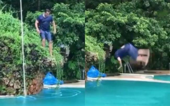 Salman Khan Doing a Back Flip into the Pool at 53 is Proof He is Still a Child at Heart - Sakshi
