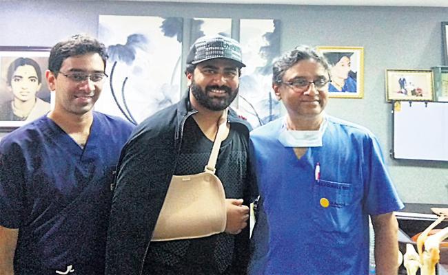 Hero Sharwanand Discharge From Sunshine Hospital - Sakshi