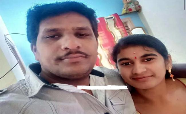 Young Woman Suspicious Death in Karnataka - Sakshi