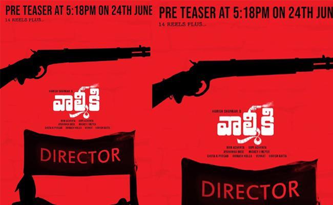 Pre Teaser From Varun Tej Valmiki Movie - Sakshi