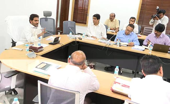 CM YS Jagan Review Meeting With Finance Department Officials - Sakshi