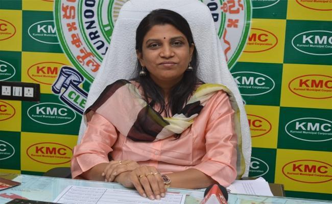 Prasanthi As Commissioner Of Anantapur Municipal Corporation - Sakshi