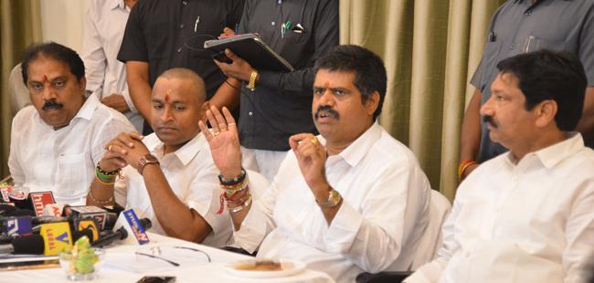 Ministers Avanti, Velampalli Visit Bhavani Island - Sakshi
