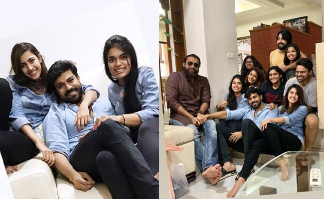 Mega Family Young Stars Meet For Luch - Sakshi