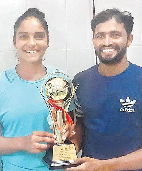 Lakshmi Sahiti Reddy Gets Tennis Title - Sakshi
