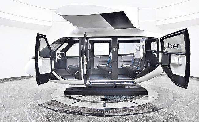 Will We Be Flying In Uber Air Taxis Soon - Sakshi