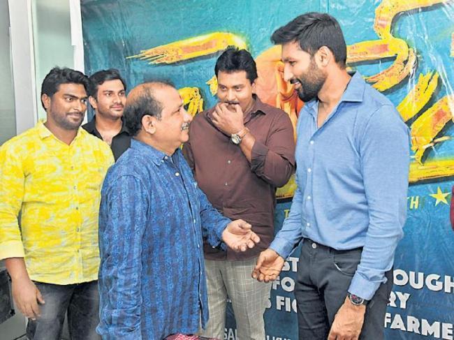 Jai sena Teaser Launch by Hero Gopichand - Sakshi