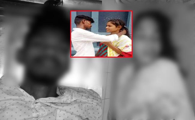 Lovers Commits Suicide In Krishna - Sakshi