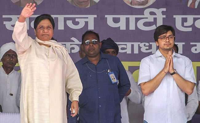 Mayawati Gives Key Party Positions To Brother Nephew - Sakshi