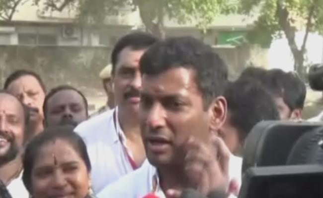 No Postal Votes For Members In Nadigar Sangam Election - Sakshi