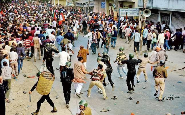 2 Killed in Clashes Between BJP and TMC 'Supporters' in Bhatpara as West Bengal - Sakshi