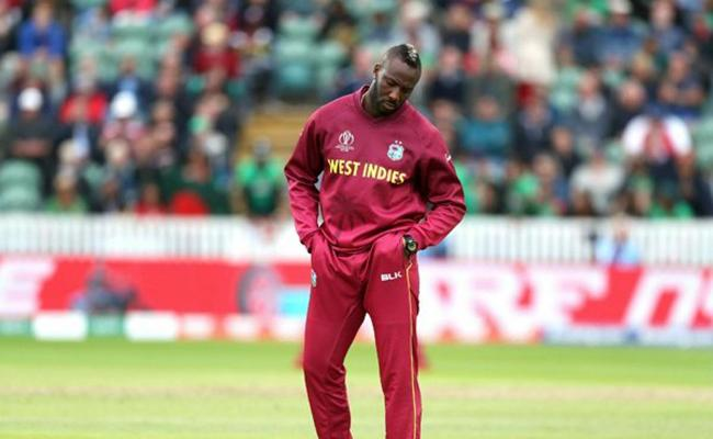 Andre Russell ruled out of World Cup - Sakshi