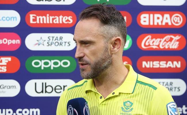 Faf du Plessis Blames IPL as South Africa Exit World Cup - Sakshi