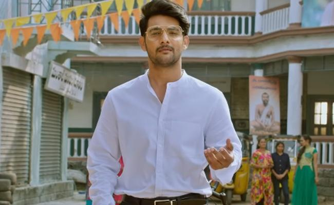 Aadi Sai Kumar Burrakatha Movie Trailer Out - Sakshi