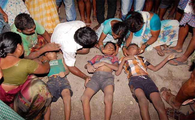 Three Children Died In Gadwal, While Going For Swim In Stream - Sakshi