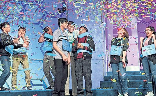 Scripps National Spelling Bee Champions Indian Americans Since 2008 - Sakshi
