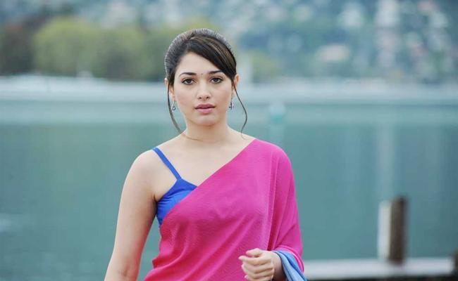 Tamanna Clarity on Character in Sye raa Narasimha Reddy - Sakshi
