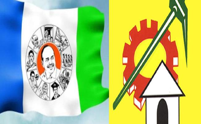 TDP Candidate Attacked YSRCP Candidate In Srikakulam - Sakshi