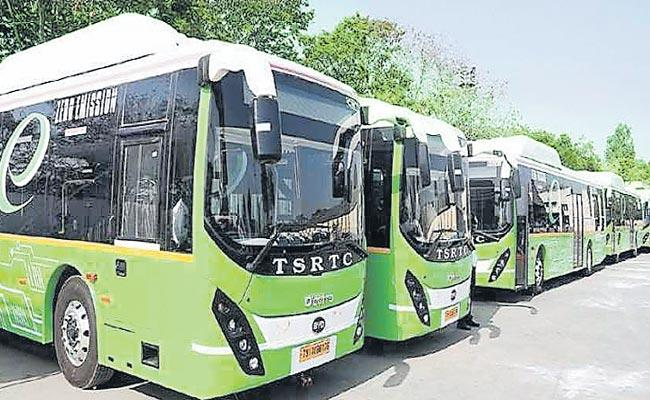 TSRTC To Ask Central Government 600 Battery Busses - Sakshi