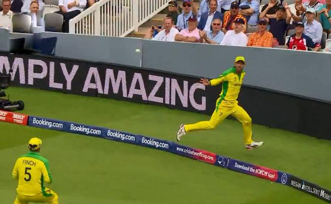 World Cup 2019 Maxwell Brilliant To Dismiss Woakes - Sakshi