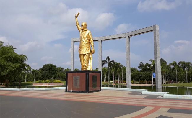 Ysr Smrithivanam In Kurnool Develop In Ysrcp Govt - Sakshi